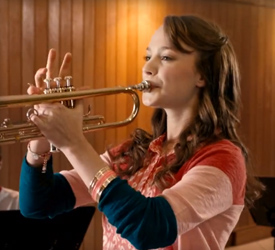 Playing trumpet and other everyday activities are possibly with Invisalign Teen, available near Grand Rapids and Rockford, MI.
