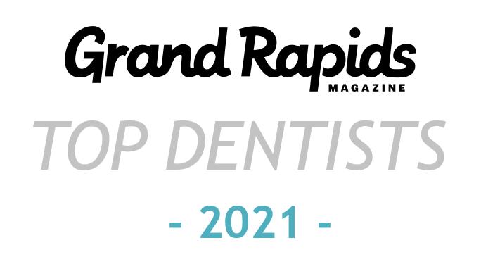 Gran Rapids Magazine Top Dentists 2021